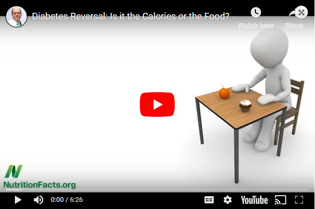 Diabetes Reversal: Is it the Calories or the Food?