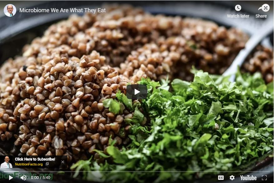 Microbiome: We Are What They Eat